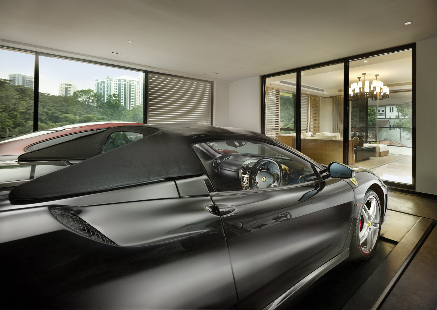 Car Lift To Basement Garage Singapore S Ultimate Luxury Trend The Sky Garage