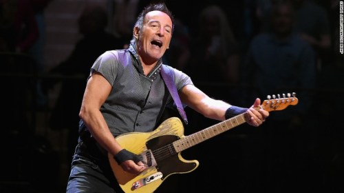 Bruce Springsteen performing at Madison Square Garden in 2016.
