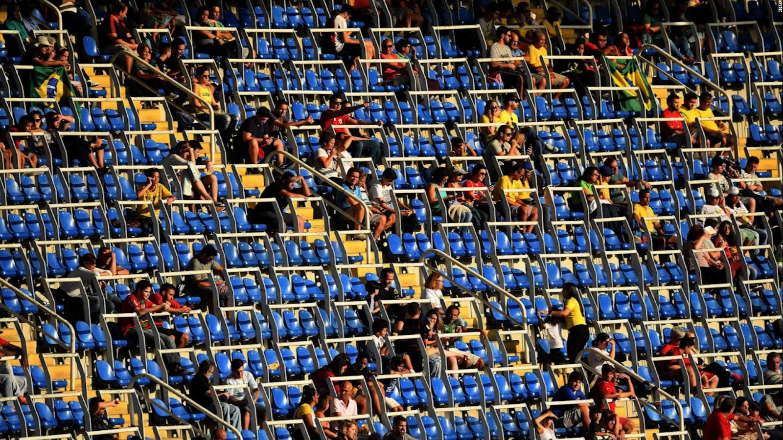 Rio Olympic Rio Olympics 2016 Why All The Empty Seats