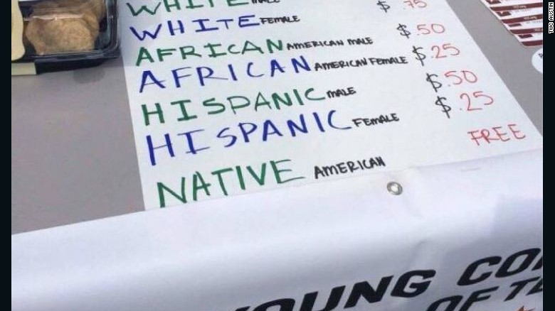 Affirmative action bake sale sparks protests at University of Texas - bake sale images