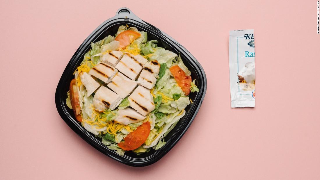 Burger King\u0027s menu, as selected by a nutritionist - CNN