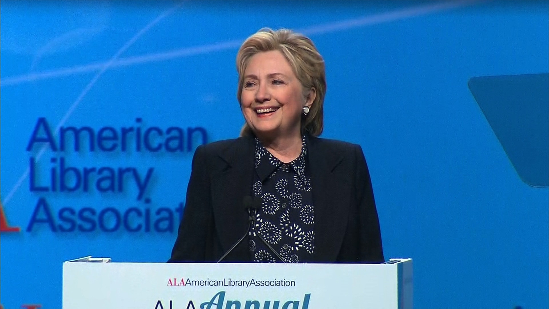 American Library Association Hillary Clinton Full Ala Conference Speech