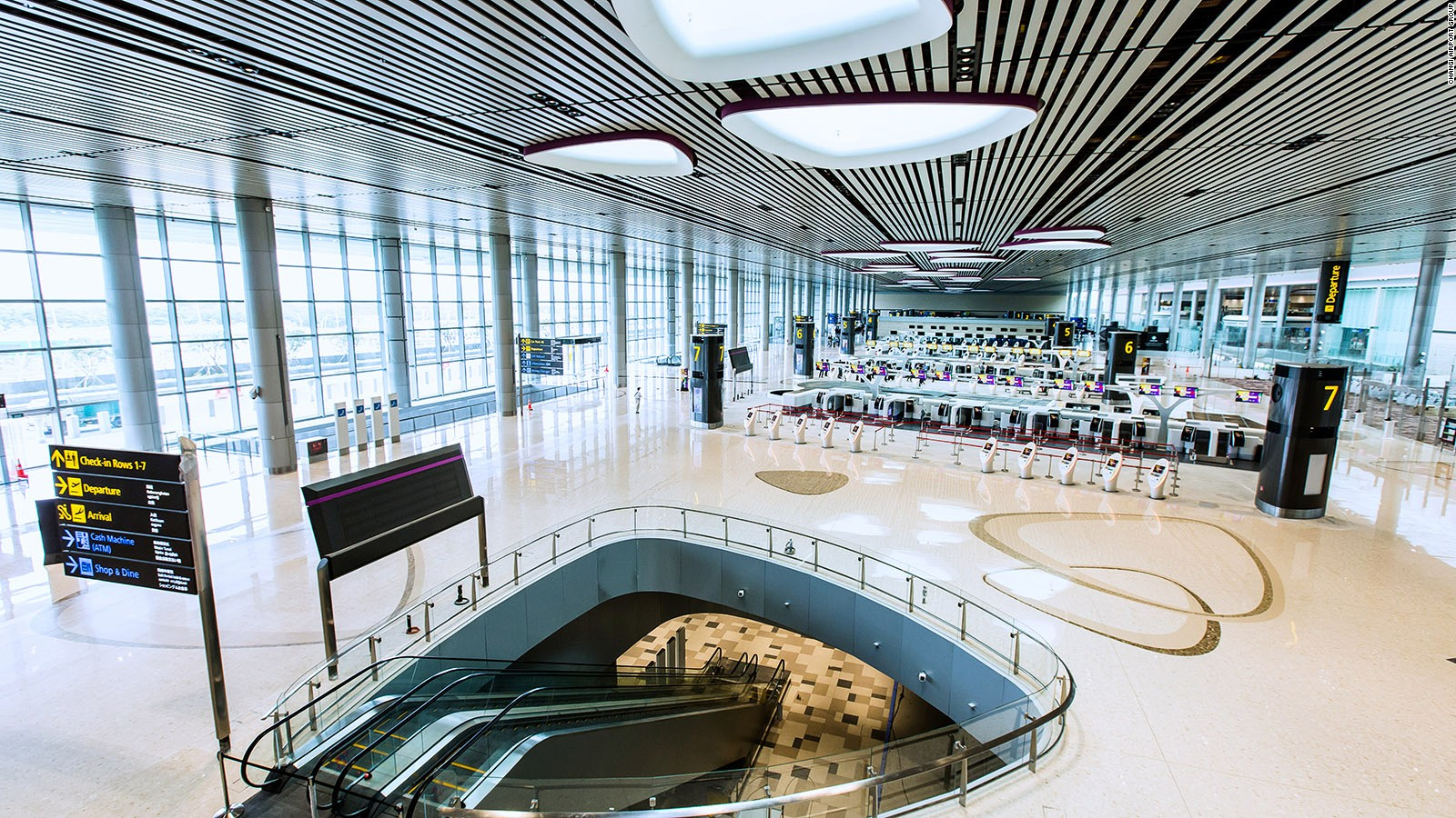 Cash Pool Flughafen München Singapore Changi Airport S New Terminal Is Dazzling Cnn Travel