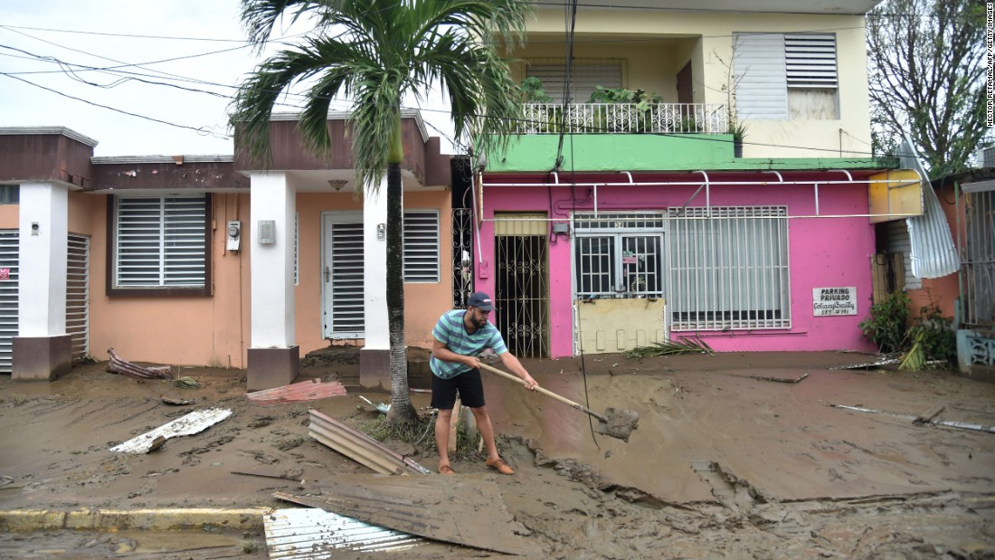 Hurricane Maria \u0027Apocalyptic\u0027 devastation in Puerto Rico, and