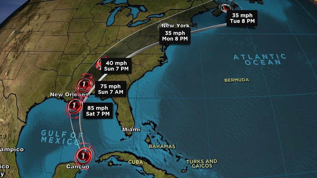 Hurricane Nate makes US landfall - CNN