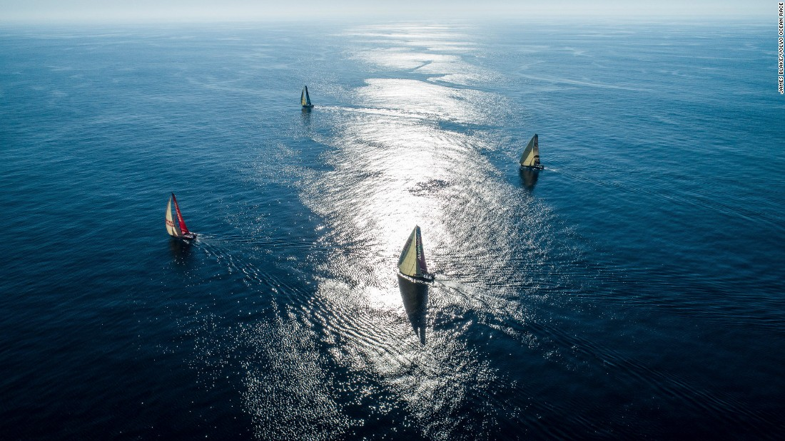 Volvo Ocean Race Ocean plastic message key for Caffari - CNN