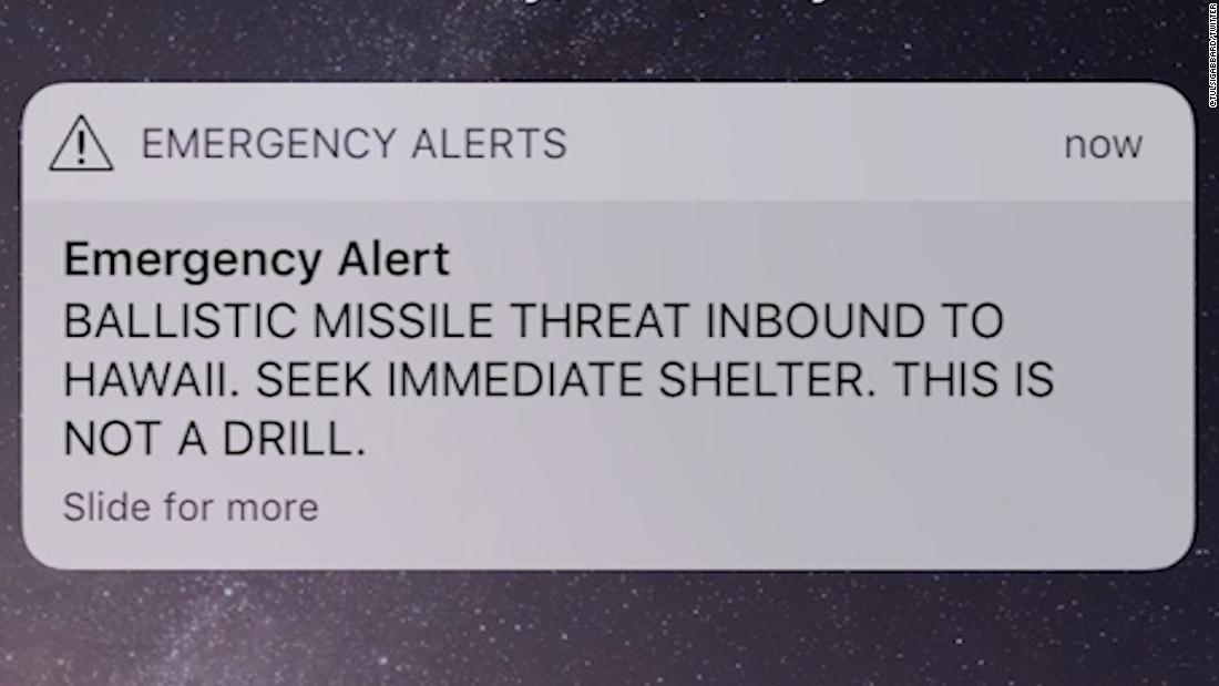 What went wrong with Hawaii\u0027s false emergency alert - CNN