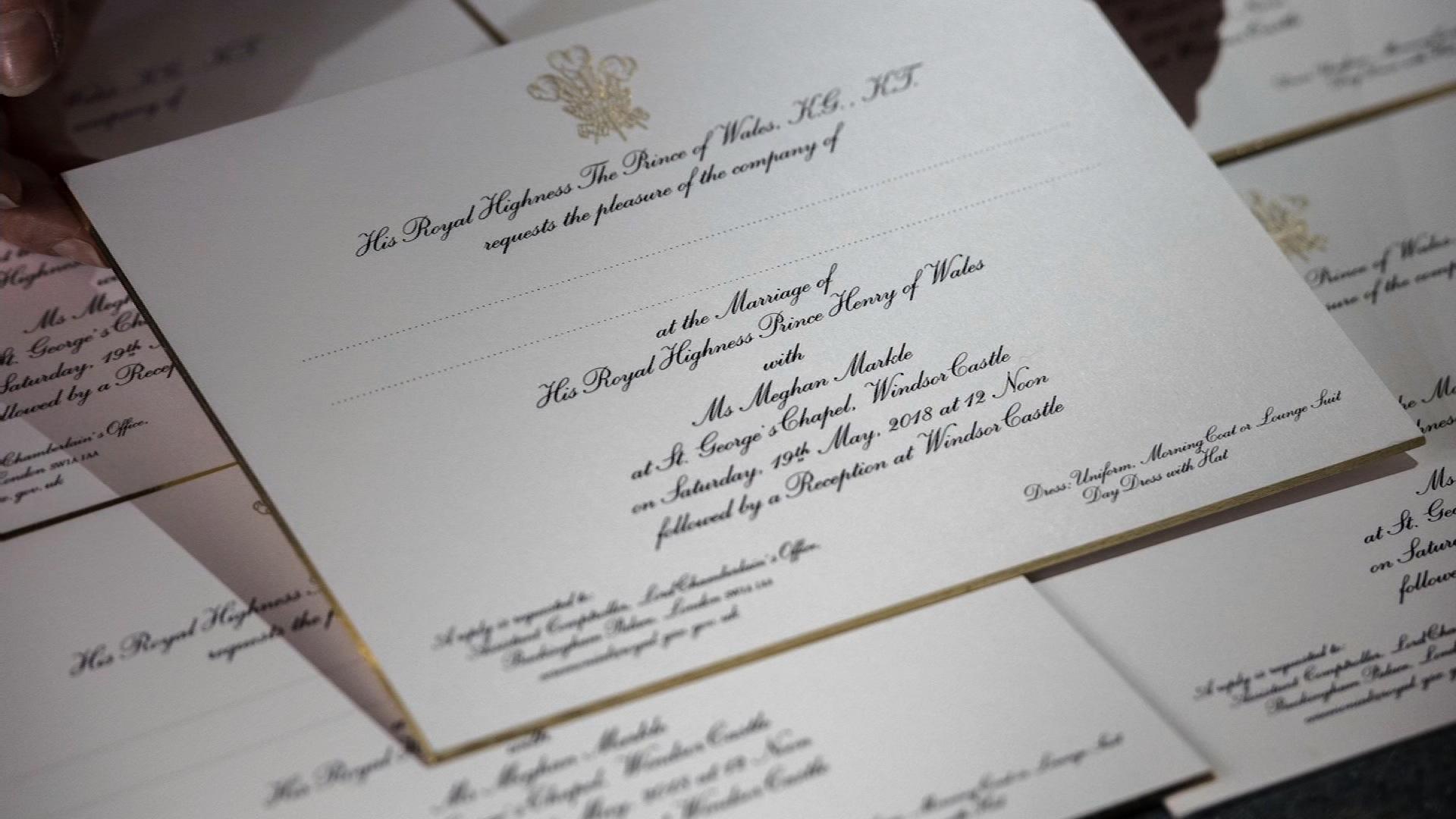 Fullsize Of Royal Wedding Invitation