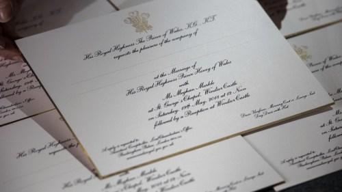 Medium Of Royal Wedding Invitation