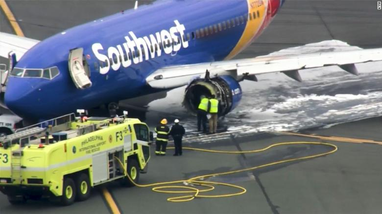 Southwest pilots righted plane quickly after engine failed - CNN
