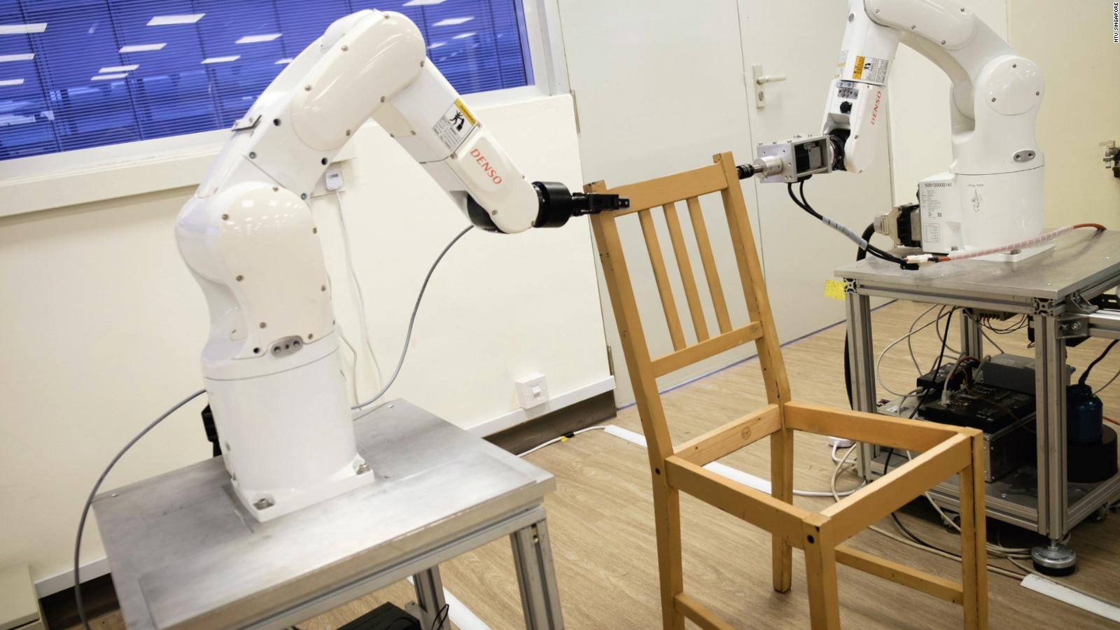 Ikea Bank Code Watch This Robot Build An Ikea Chair In Minutes