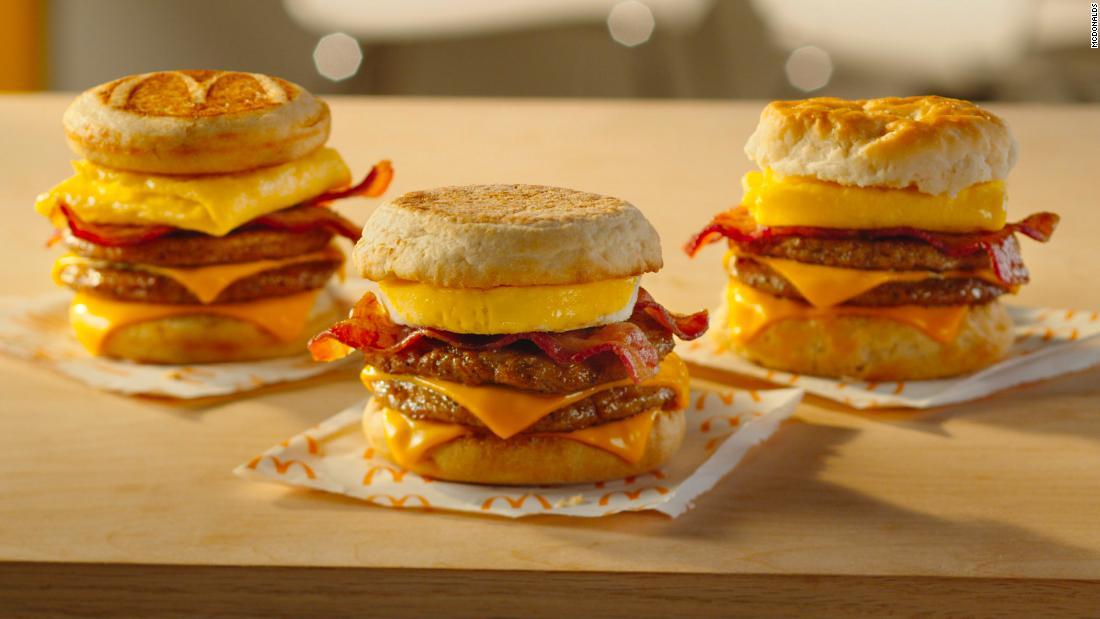 McDonald\u0027s reveals new breakfast sandwich - CNN