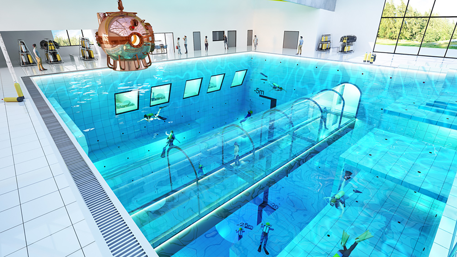 Pool World S Deepest Pool To Open In Poland Cnn Travel