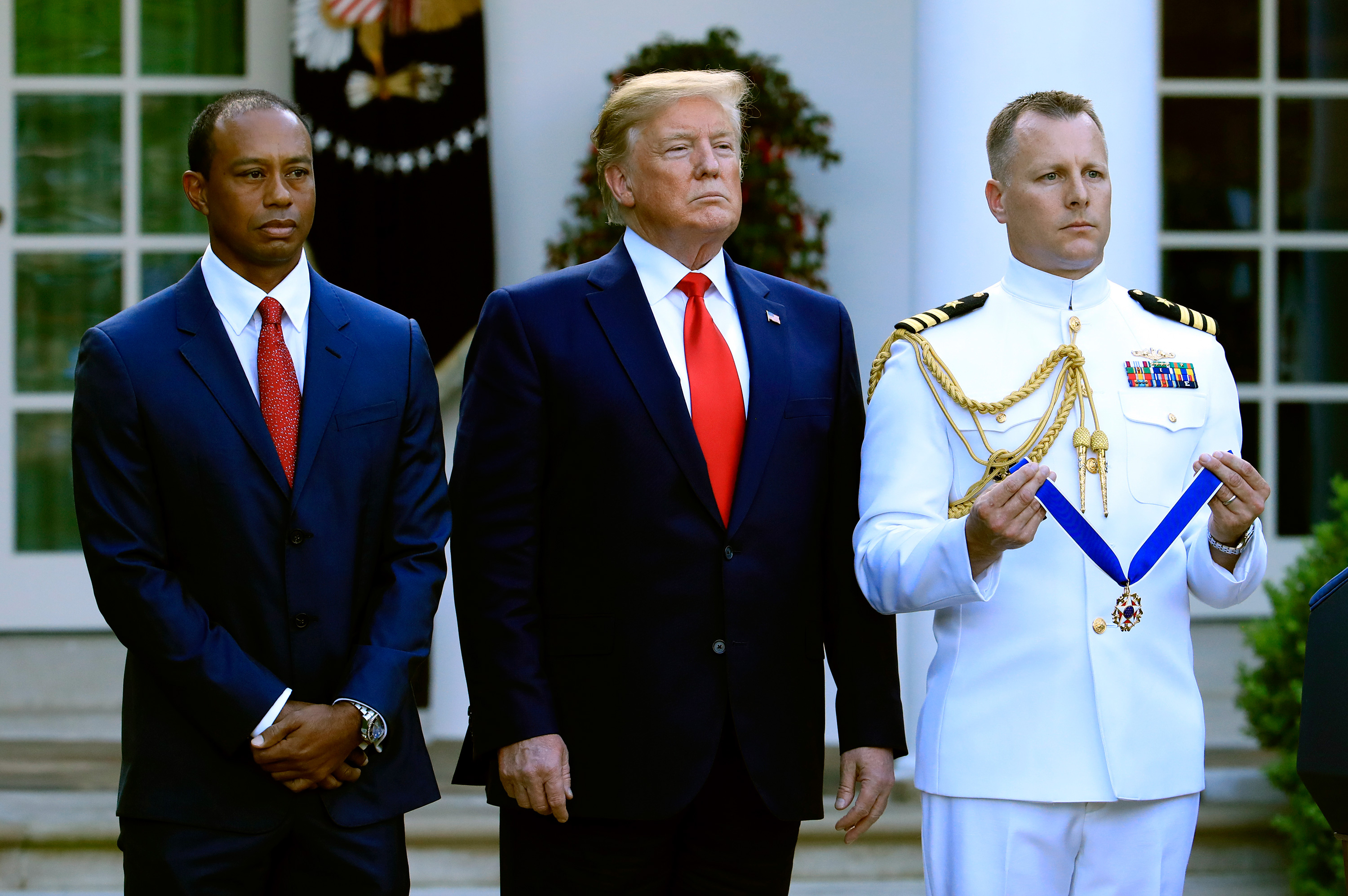 Freedom Coat Stand Tiger Woods Awarded Presidential Medal Of Freedom