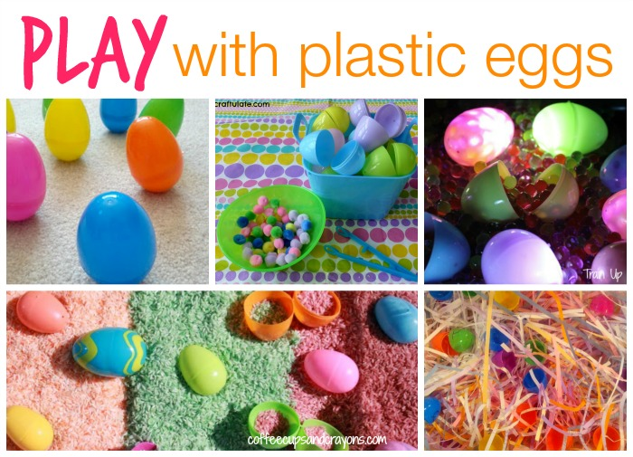 50+ Ways to Play Learn  Craft with Plastic Eggs Coffee Cups and