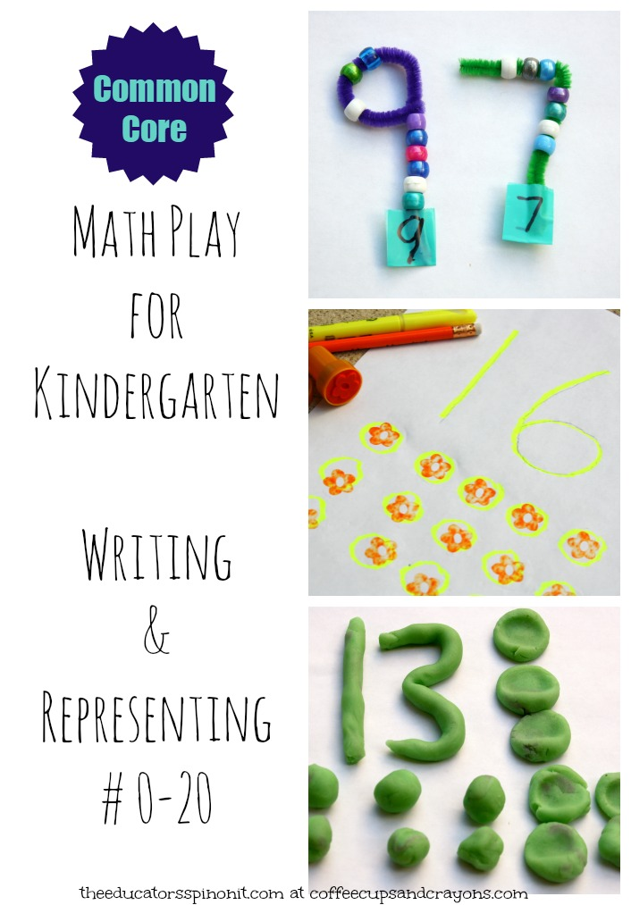Kindergarten Math {Writing and Representing Numbers 0-20} Coffee - Numbers In Writing