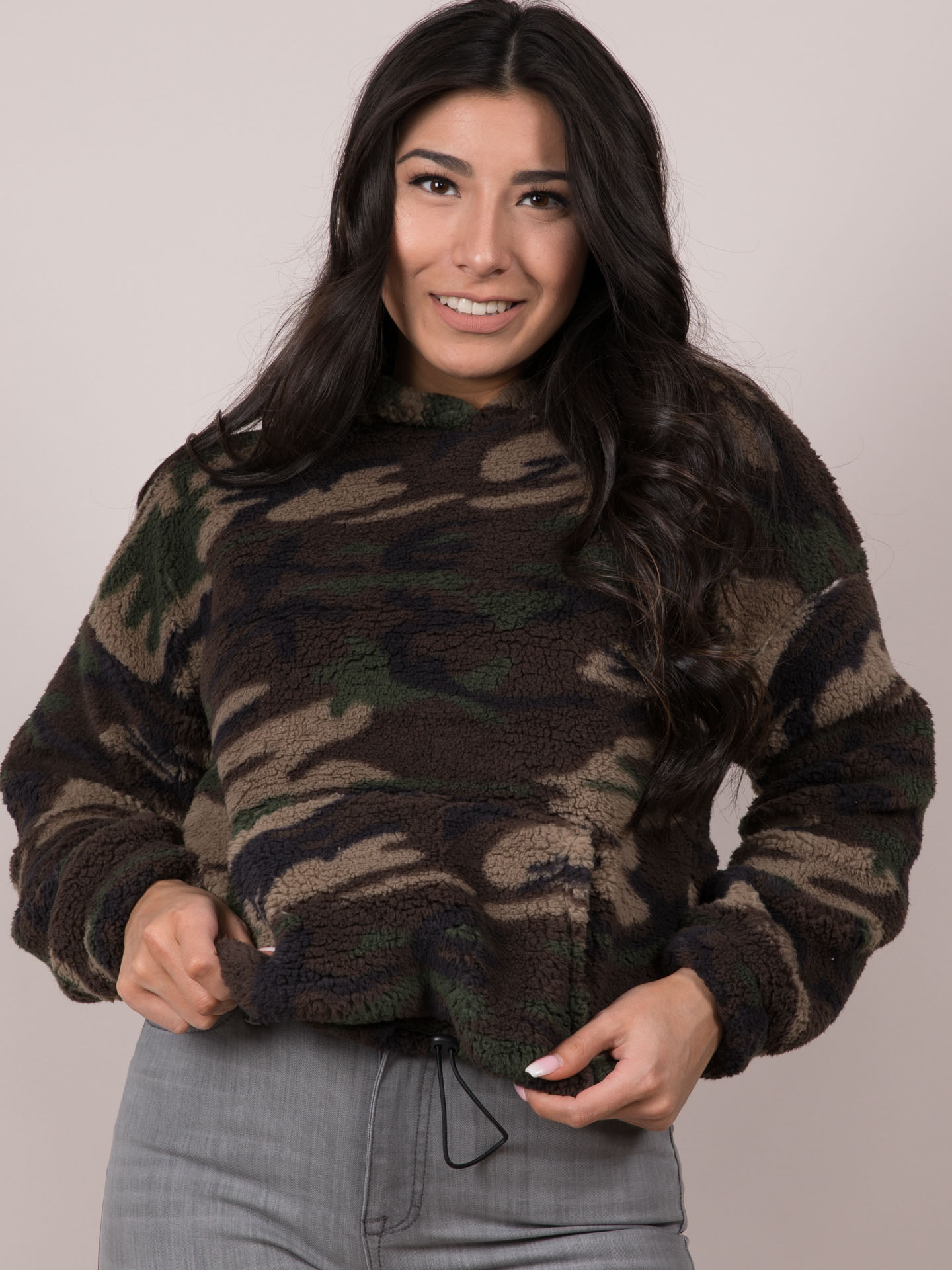 Camo Hoodie Friends Camo Pullover