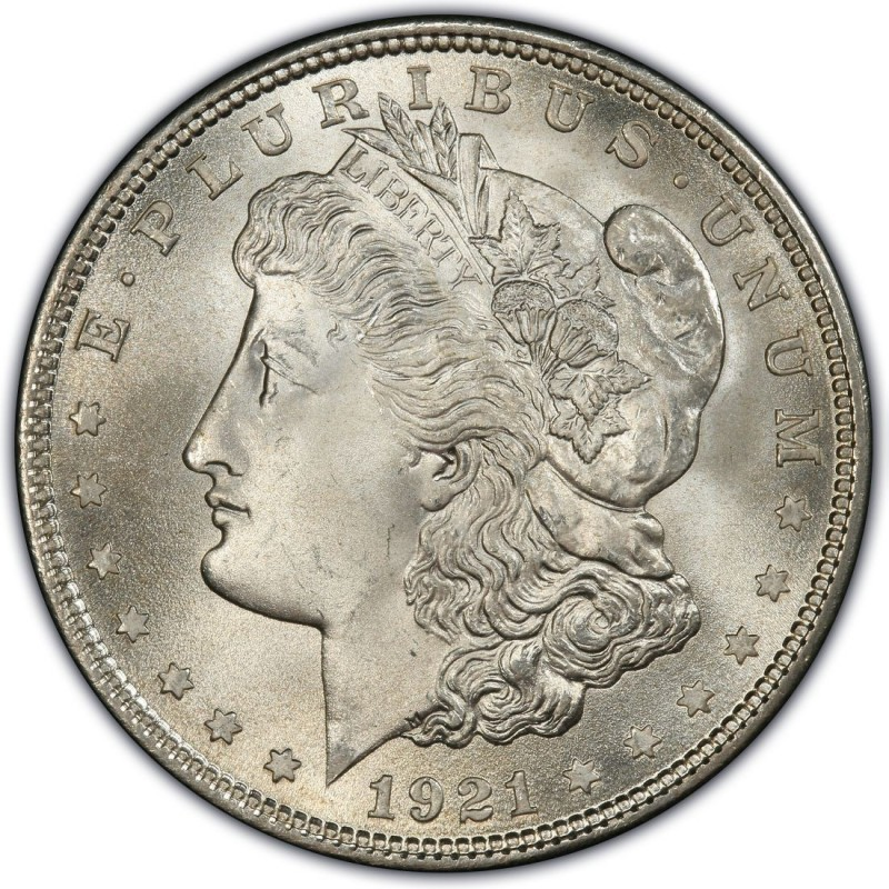 1921 Morgan Silver Dollar Values and Prices - Past Sales
