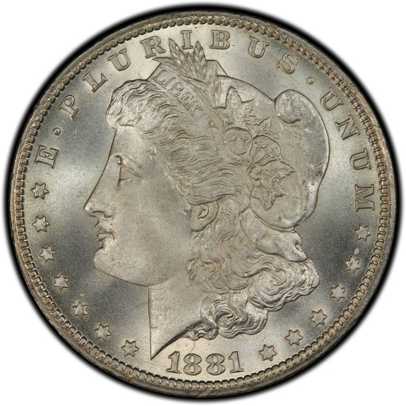 1881 Morgan Silver Dollar Values and Prices - Past Sales
