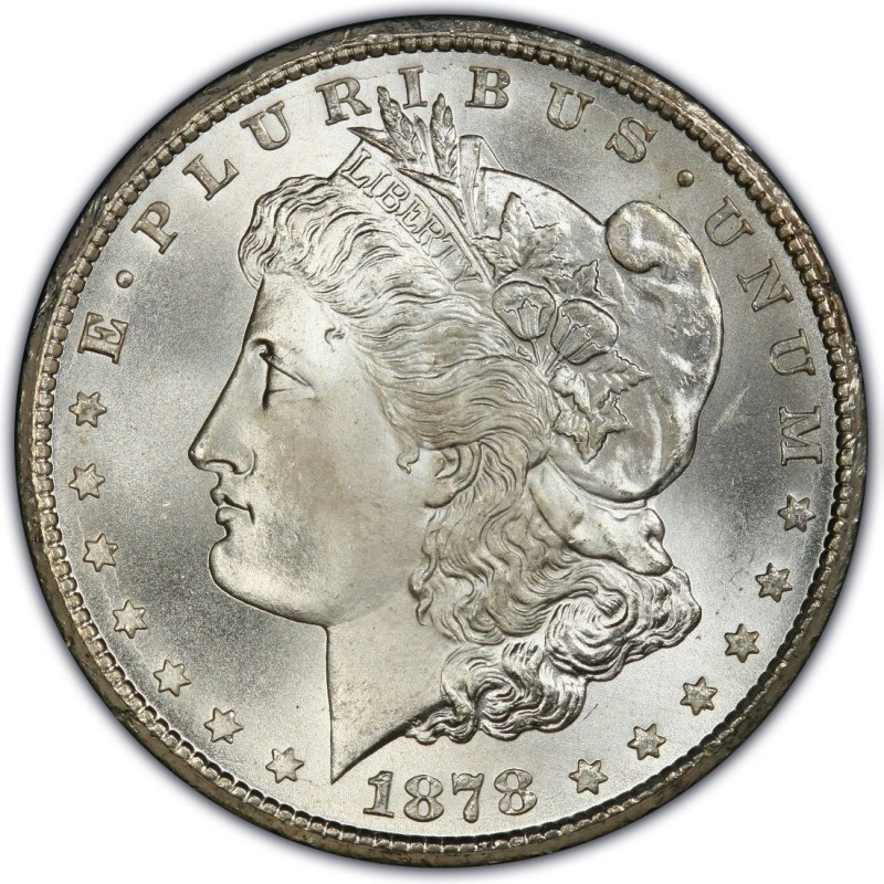 1878 Morgan Silver Dollar Values and Prices - Past Sales