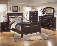 Ashley Ridgley Sleigh Bedroom Set - B520 - Bedroom Furniture