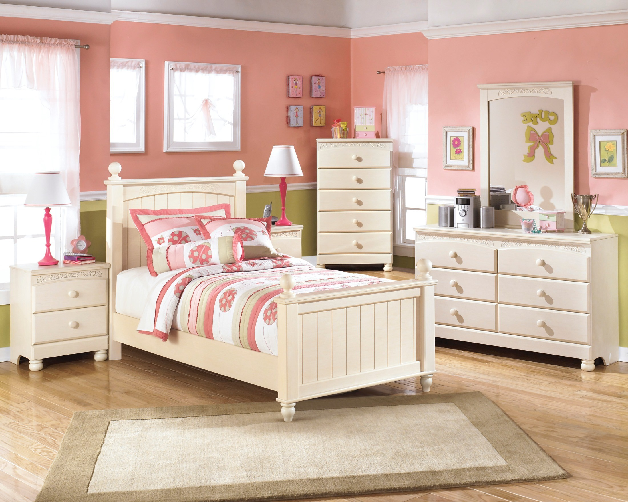 Furniture Cottage Retreat Poster Youth Bedroom Set B213