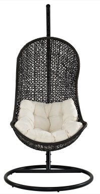 The Parlay Rattan Outdoor Patio Swing Chair, EEI-806-SET ...