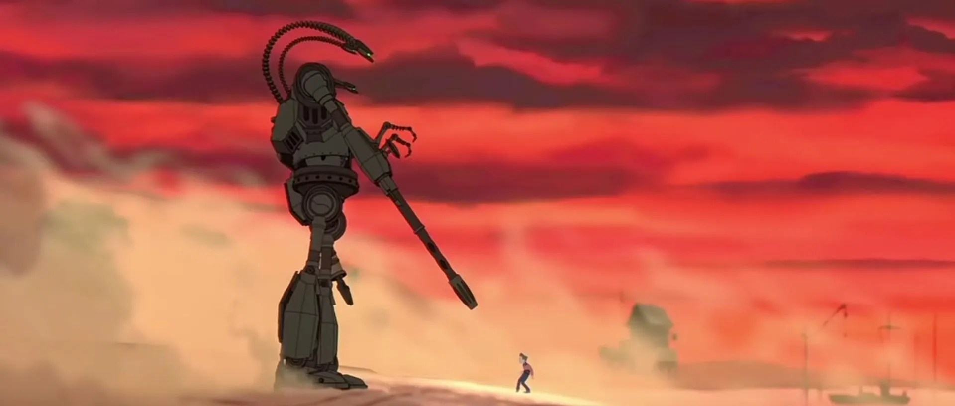 Transformers Animated Wallpaper The Iron Giant Review Brad Bird S Classic Lives On Collider