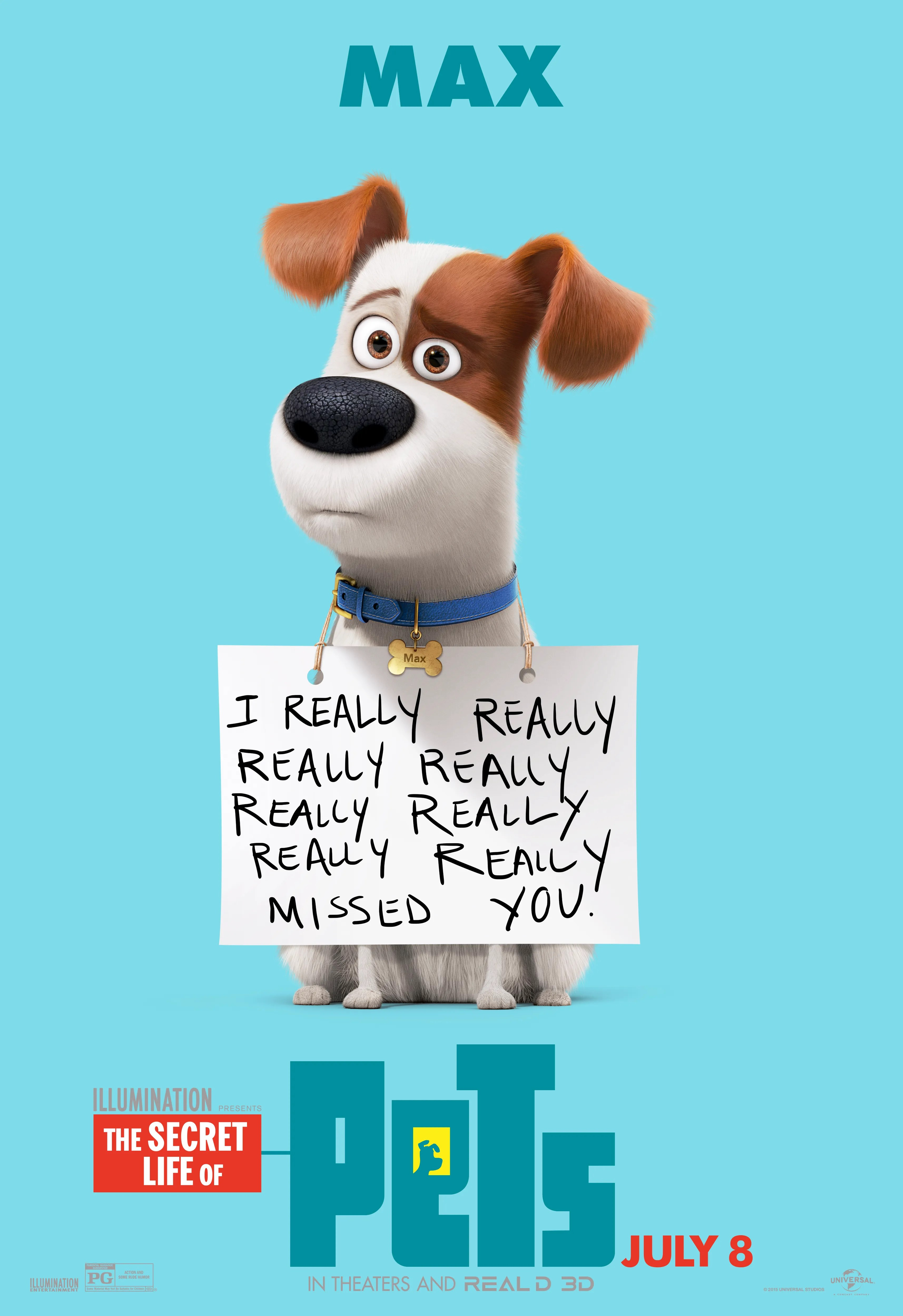 Polster Max The Secret Life Of Pets Posters Reveal New Looks Collider