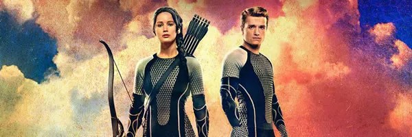 the hunger games catching fire victors banner featuring jennifer The Hunger Games Victors Banner with Katniss and Peeta 600x200