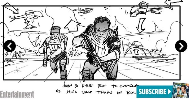 Terminator Genisys Storyboards Provides an Idea of the Film\u0027s