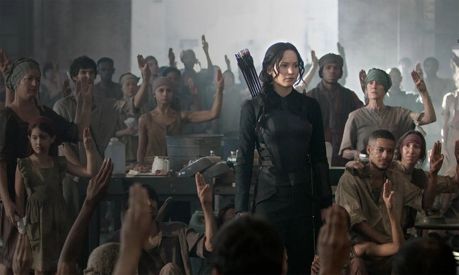 Jennifer Hunger Games Mockingjay Part