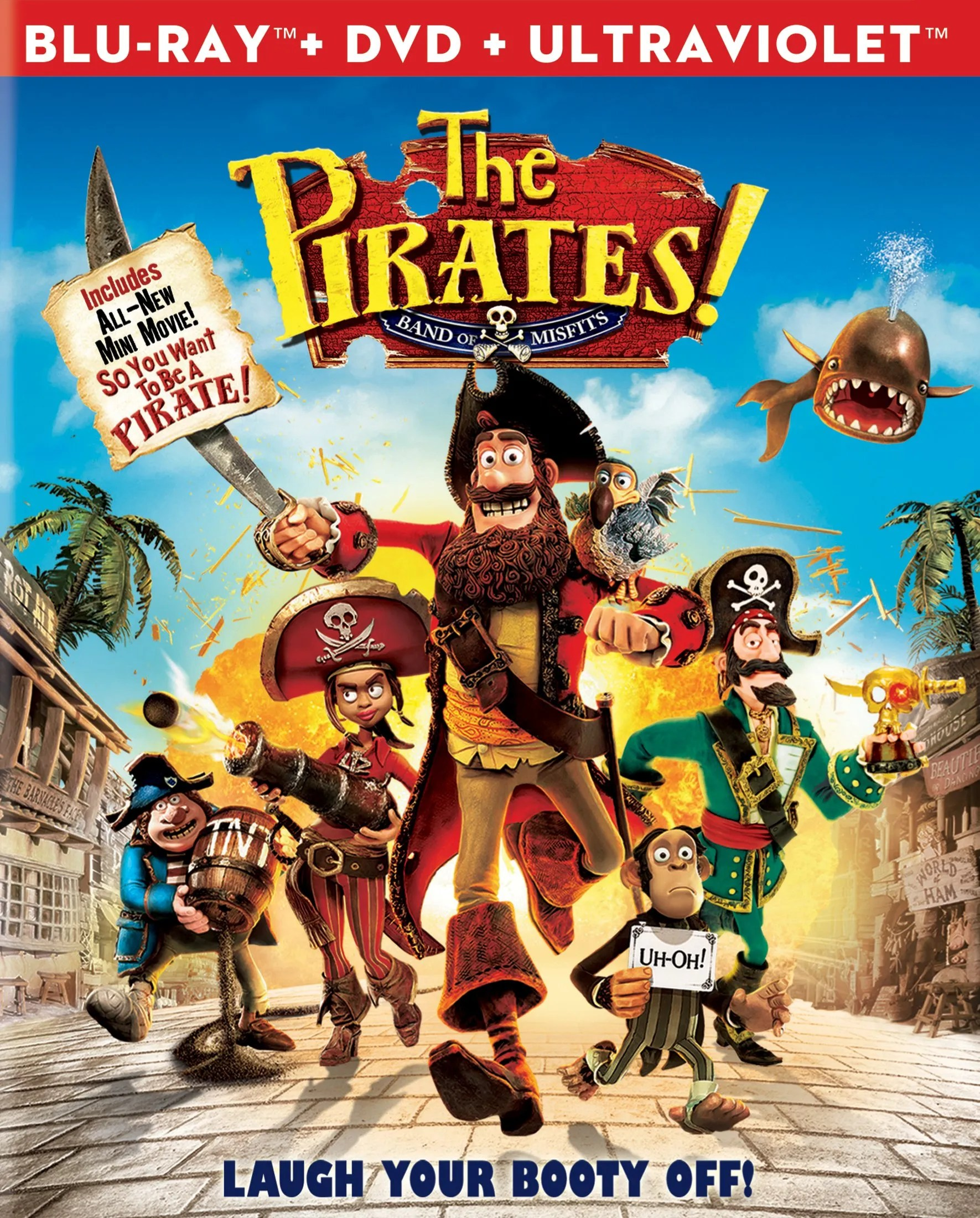 The Pirate Filme New Blu Rays Battleship The Pirates Band Of Misfits