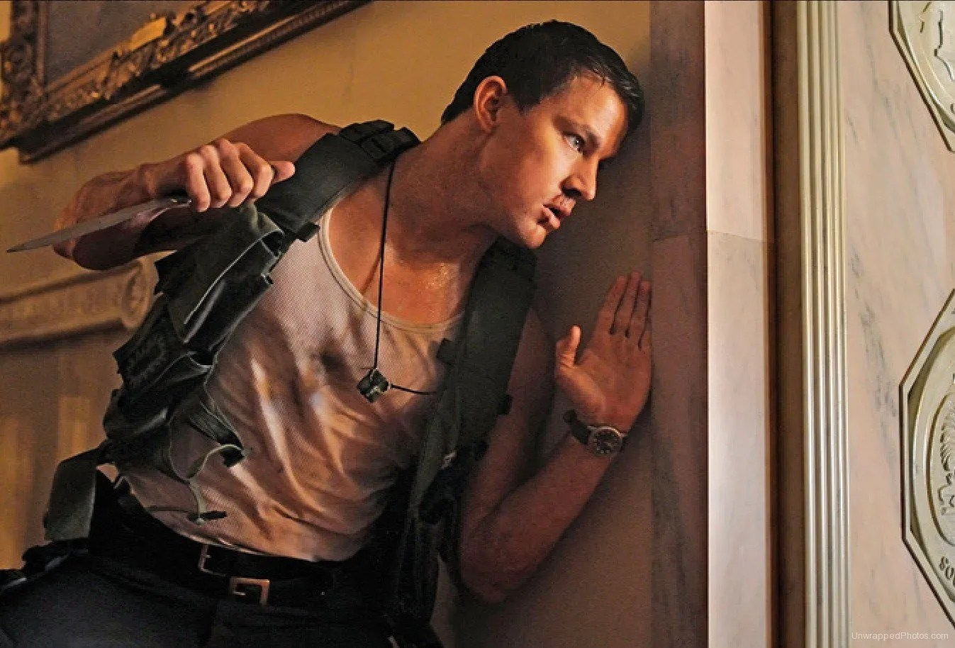 Bad Guy Set It Off Channing Tatum White House Down Interview Collider