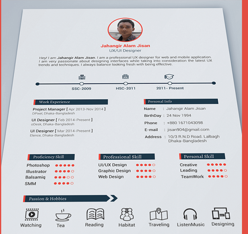 resume template completely free absolutely free resume formats eresumes4vips top 27 best free resume templates psd - Completely Free Resume Templates