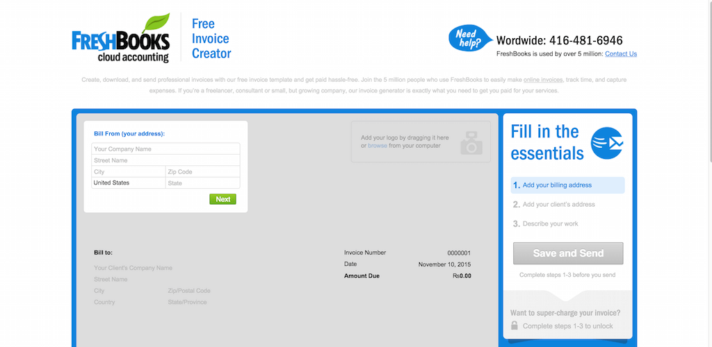 Top 10 Free Invoice Tools For Small Businesses And Freelancers