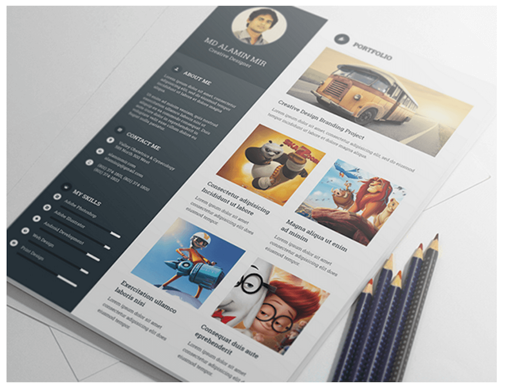 Best Resume Templates Indesign 40 Best Free Resume Templates 2017 Psd Ai Doc Top 27 Best Free Resume Templates Psd And Ai 2017 Colorlib