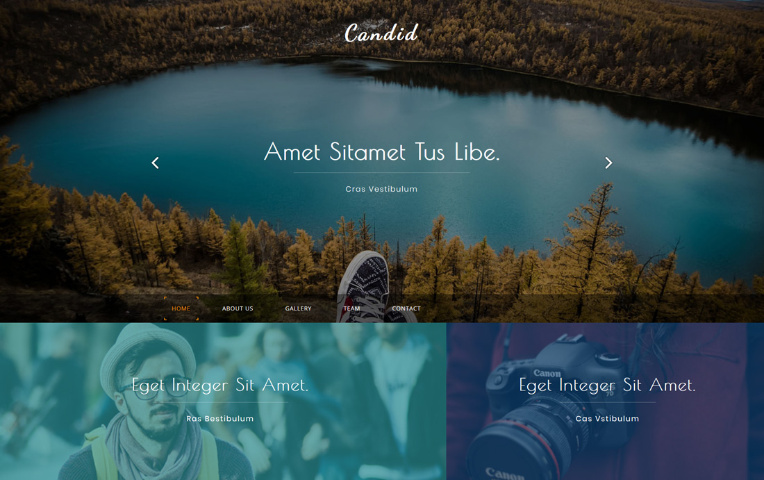 25 Free Bootstrap Gallery Templates To Mesmerise Visitors - Colorlib
