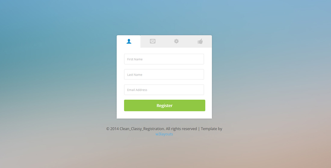 20 Best Free Bootstrap Registration Forms For All Sites - Colorlib - registration forms