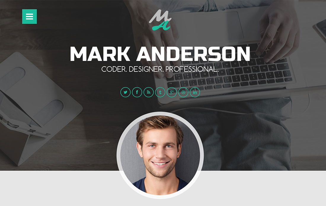 Top 10 CV  Resume WordPress Themes - Colorlib - resume wordpress theme