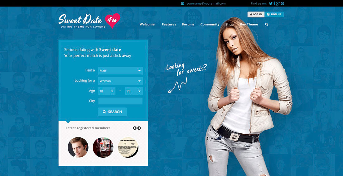 Best WordPress Dating Themes or Community Themes for Online Dating - resume site template