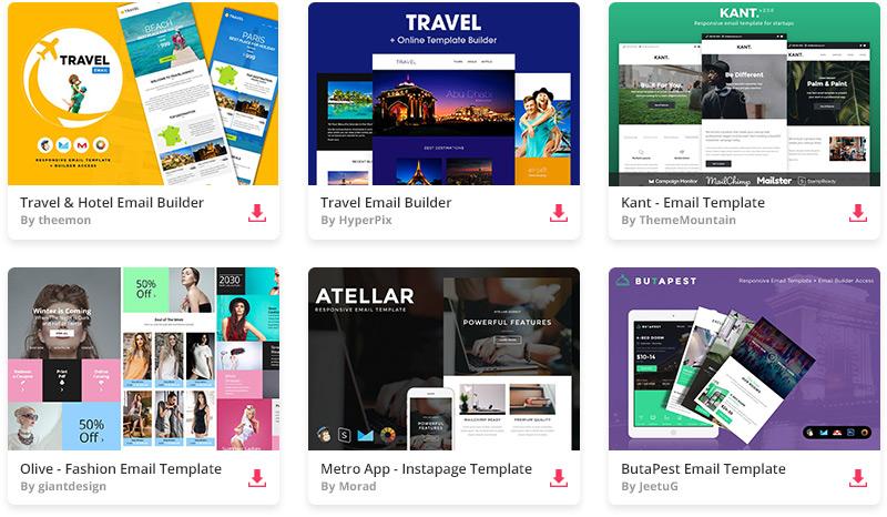 25 Best Free Responsive HTML Email Templates 2018