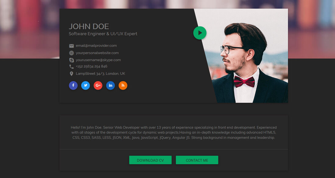 20 Best Personal Website Templates That Always Keeps You Ahead