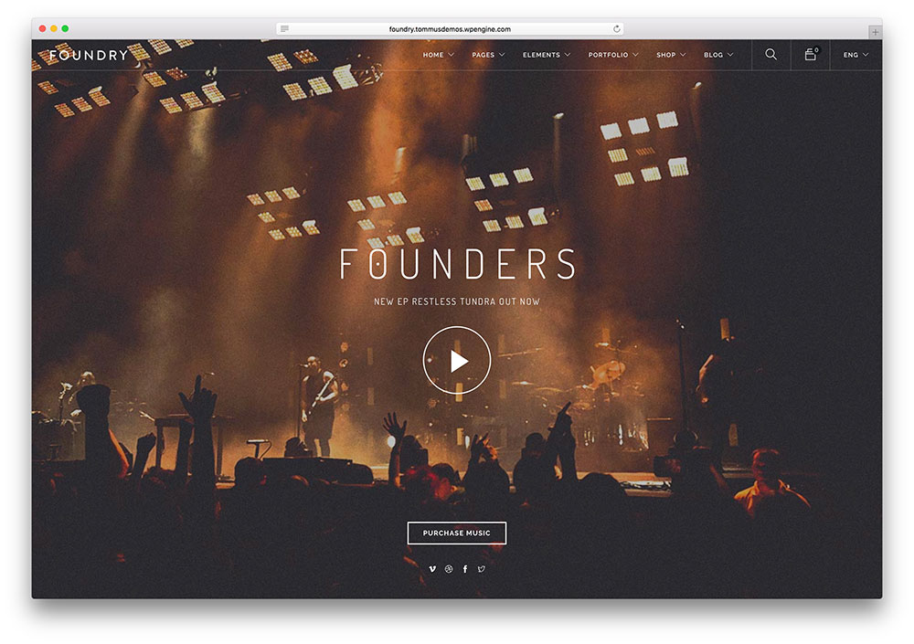 18 Best Responsive HTML5 Music Website Templates 2018 - Colorlib - html5 template tag