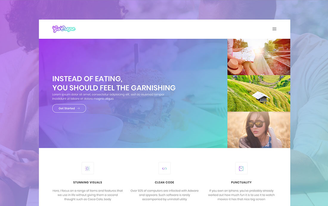 20 Free Bootstrap Gallery Templates To Mesmerise Visitors - Colorlib - Nice Templates