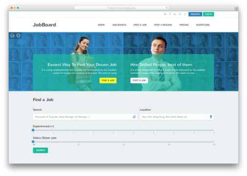 21 Best Personal Website Templates To Keep You Ahead 2018 - Colorlib