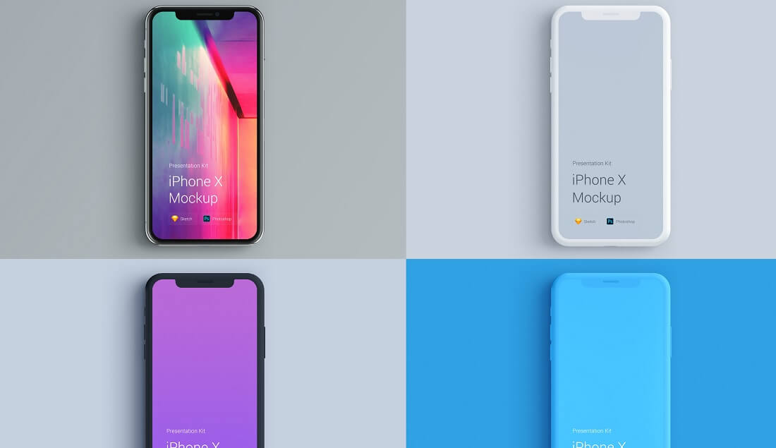 19 Best Free iPhone X + 8/8 Plus PSD Mockup Templates in 2018 - Colorlib