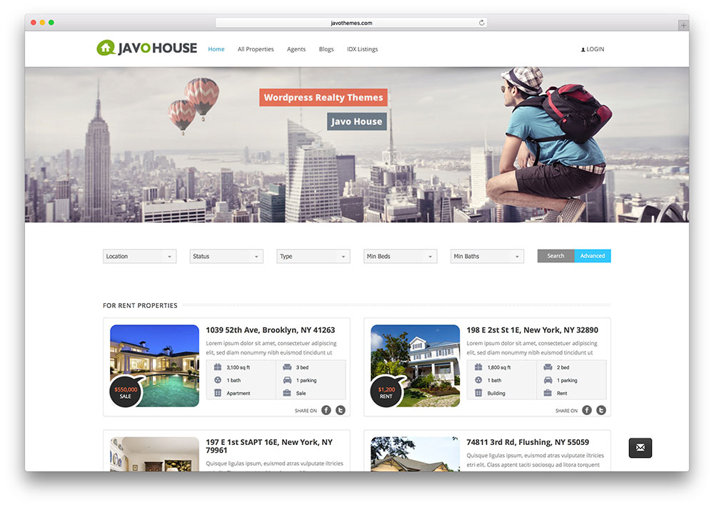 Top 15 Realtor WordPress Themes For Real Estate Websites 2016 ...