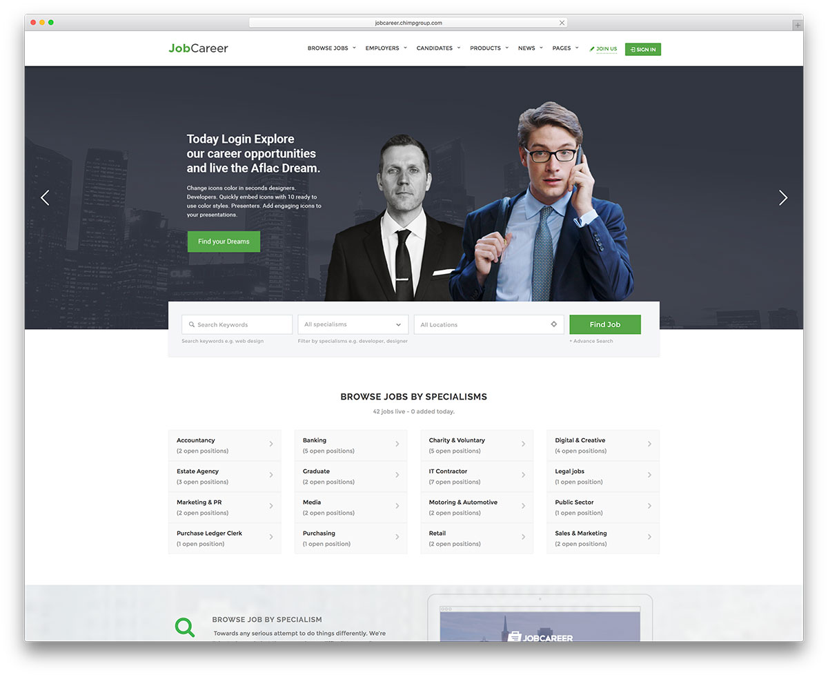 Job Opportunities Vacancies 23 Best Job Board Themes And Plugins For Wordpress 2019 Colorlib