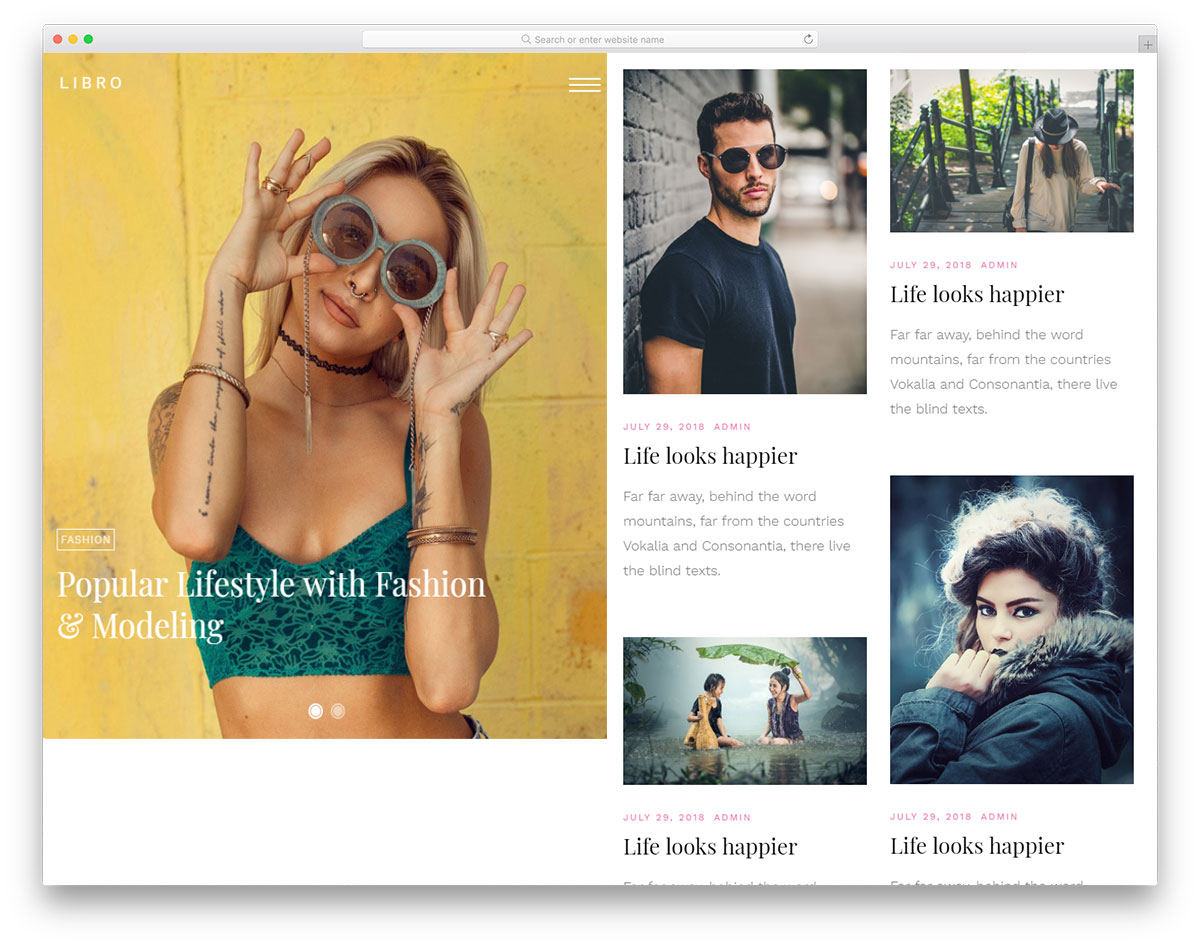 Libro Html5 29 Best Free Bootstrap Blog Templates Using Html5 And Css3